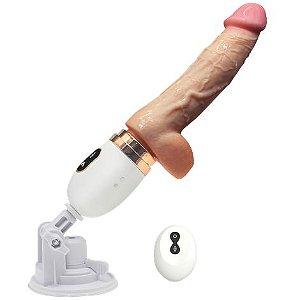 Máquina do sexo com vibração e aquecimento Cyclone Fire
