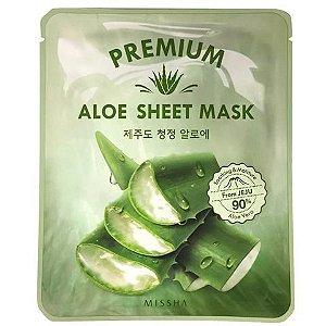 [MISSHA] Premium Aloe Sheet Mask - 1 unidade