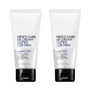 [MISSHA] Men's Cure BB Cream Suited For Men - 50g (SPF50+ PA+++)