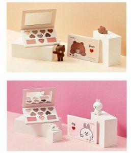 [MISSHA] Color Filter Shadow Palette (Line Friends Edition) - 15g