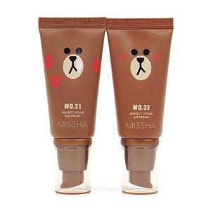 [MISSHA] M Perfect Cover B.B Cream (Line Friends Edition) - 50ml (SPF42 PA+++)