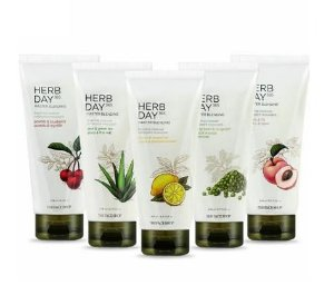 [THE FACE SHOP] HERB DAY 365 Master Blending Cleansing Foam - 170ml