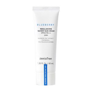 [INNISFREE] Blueberry Rebalancing Watery Sun Cream SPF45 PA+++ 40ml