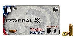 Munição Federal Train Protect 9mm