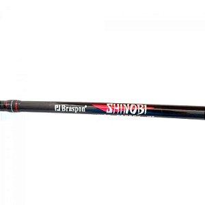 Vara de Pesca Braspon Shinobi SH601MH 1,80m 12-25Lbs