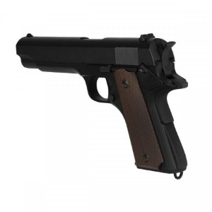 Airsoft GBB M1911 A1 Preta Full Metal Blowback