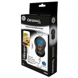 Balança 50 Kg Digital Portátil Fish Premium