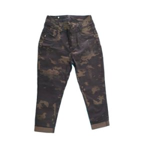 Calça Capri Barra Virada Fox Boy -Multicam Black