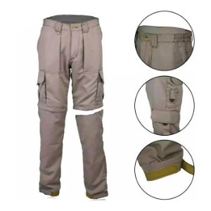 Calça Fox Boy Fishing Pants Poly Rip Stop- Caqui