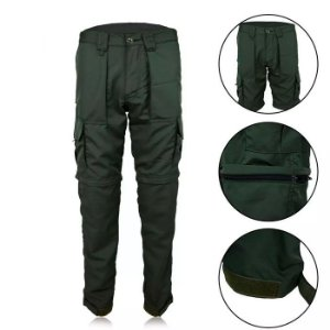 Calça Fox Boy Fishing Pants Poly Rip Stop- Verde Oliva