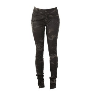 Calça Skinny Army Fox Boy- Multicam Black