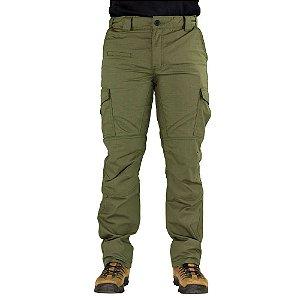 Calça Tática Safo Cintura Ajustável Verde