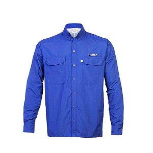 Camisa Antares King-Azul