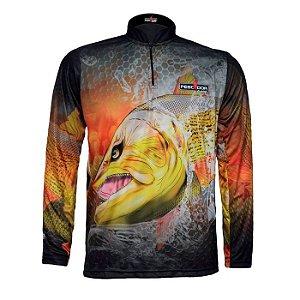 Camisa Com Proteção Pescador Modelo 10