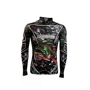 Camisa de Proteção Brk Peacock Bass Amazon