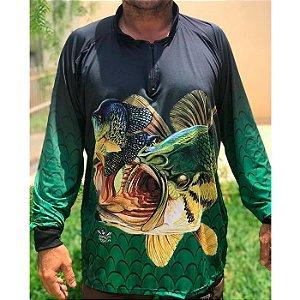 Camisa De Proteção Hiper Pesca Tucunaré Nº9