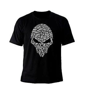Camiseta Bravo Caveira Armas- M