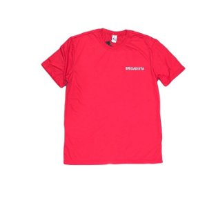 Camiseta Brigadista Sansar -Vermelha
