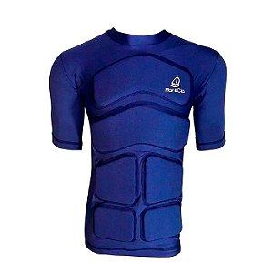 Camiseta Flutuante Mag. Curta 120Kg- Azul Marinho