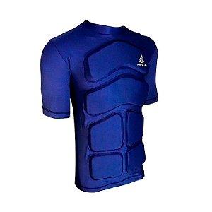 Camiseta Flutuante Mag. Curta 25Kg- Azul Marinho
