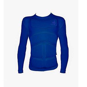 Camiseta Flutuante Mag. Longa 120 Kg- Azul Marinho