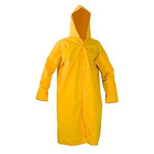 Capa De Chuva Pvc Reforçada GG Amarela