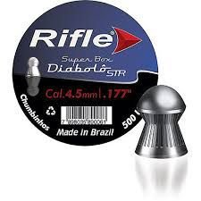 Chumbinho Rifle Diabolô 4.5MM Box C/500