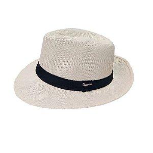 Chapéu Panamá Branco-58