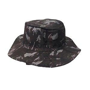 Chapéu Pescador Com Proteção- Camuflado Cinza