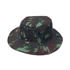 Chapéu Pescador Com Proteção- Camuflado Verde