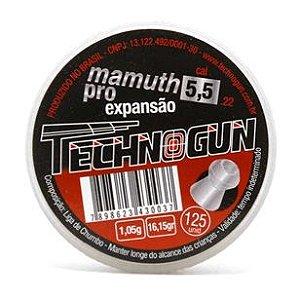 Chumbinho Technogun Mamuth Pro 5.5MM C/125