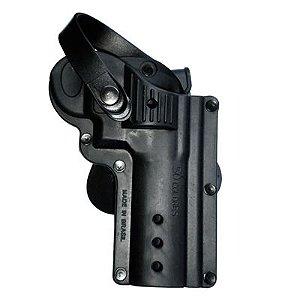Coldre de Cintura Só Coldres  Revolver 6T