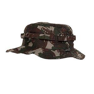 Chapéu Rip Stop Com Aba-Camuflado Exército