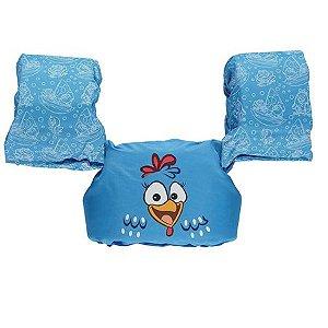 Colete Salva Vidas Ativa Infantil Galinha Pintadinha-Azul