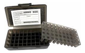 Estojo Para Munições Shotgun 50 .380/9mm/22
