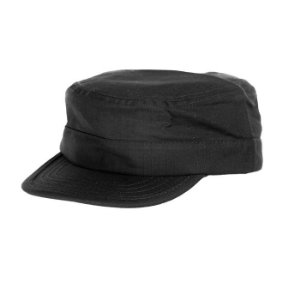 Gorro Pala Dura Preto C/ Regulagem Fox boy