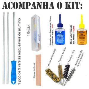 Kit De Limpeza LH Carabina - .22