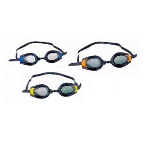 Óculos De Natação Juvenil Pro Race Três Cores