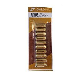 Munição CBC .40SW EXPO 155GR Gold Hex