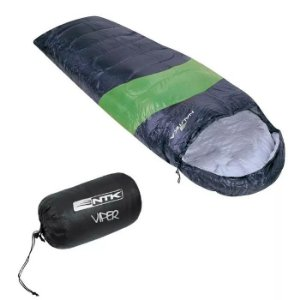 Saco De Dormir Nautika Viper 5ºC a 12ºC -Preto e Verde