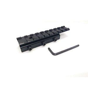 Suporte Adaptador De Trilho De 11mm Para 20mm-Metal