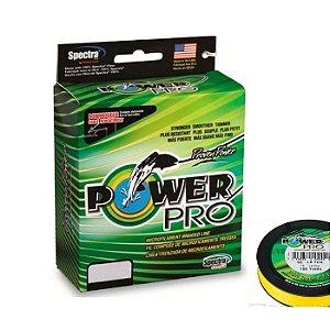 Linha Multifilamento Power Pro 92M-Amarelo