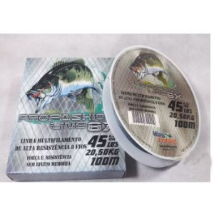 Linha Multifilamento Way Fishing Profashion Line 8X 100M