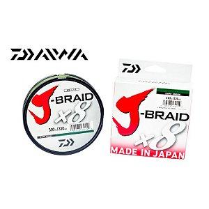 Linha Multifilamento Daiwa J-Braid X8 300M