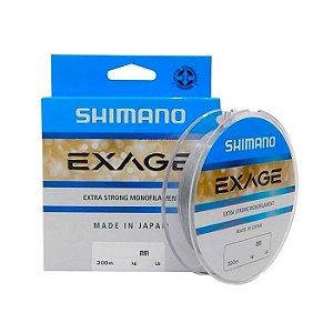 Linha Monofilamento Nylon Shimano Exage 300M