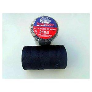 Fio Torcido de Nylon Têxtil Sauter 210/8 BCO PCT 200G -Azul
