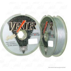 Linha Multifilamento Marine Sports Vexter Cinza 100M