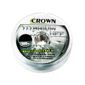 Linha Monofilamento Crown Titanium HPP 100M