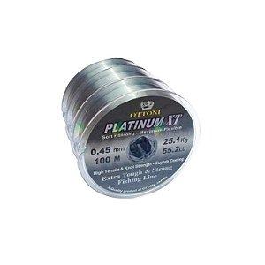 Linha Monofilamento Ottoni Platinum XT 100M