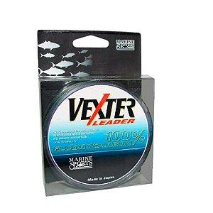Linha Monofilamento Marine Sports Fluorcarbon Vexter Leader